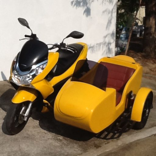 Skootzhuahin Scooter Trike And Side Car Hire And Supply